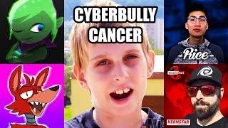 CYBERBULLY CHANNELS ARE CANCER!!! (Leafy, Pyrocynical, RiceGum, KeemStar, etc...)