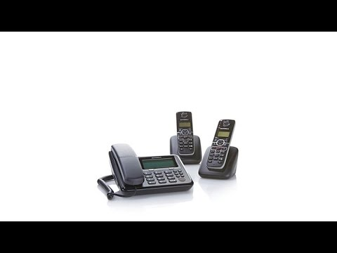 Motorola 3pack Corded/Cordless Phones