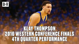 Klay Thompson's Epic 4th Quarter Performance | 2016 WCF Game 6