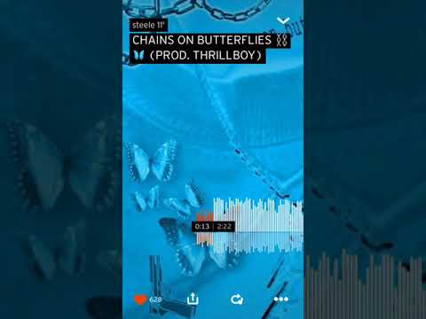CHAINS ON BUTTERFLIES