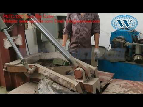 Truck tire cutter, Tire Cutting Machine, Used Tire recycling, Tire Recycling Equipment