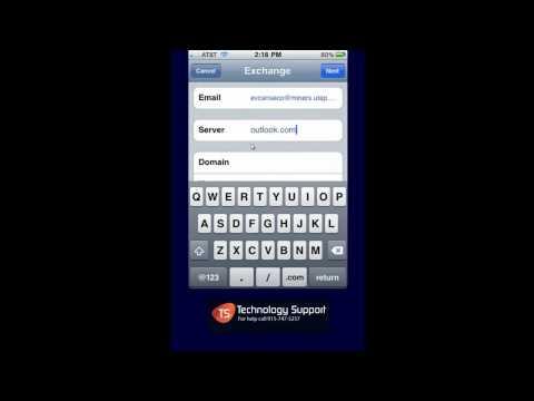 Student E mail iPhone iPad   Exchange