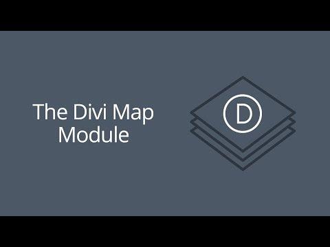 Divi Maps Module
