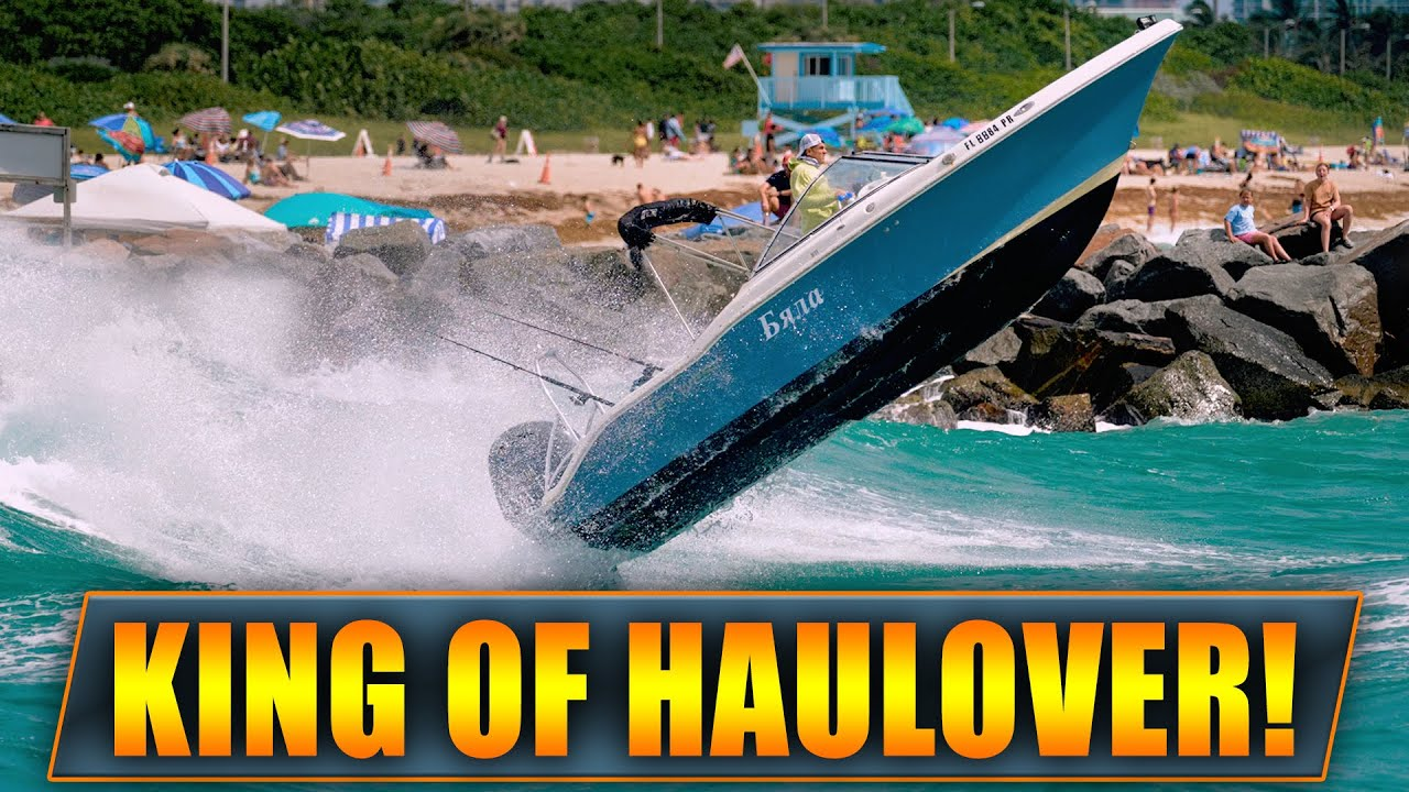 WHEN YOU IGNORE SMALL CRAFT ADVISORIES ! | BOATS AT HAULOVER INLET! | WAVY BOATS