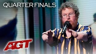 Download HILARIOUS Comedian Ryan Niemiller Will Make You Laugh With These Jokes! - America's Got Talent 2019 Video