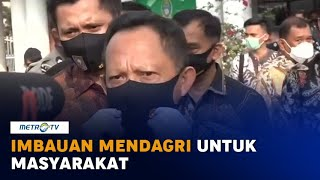 Mendagri Imbau Warga Disiplin Pakai Masker, Cuci Tangan & Jaga Jarak