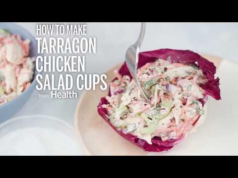 Tarragon Chicken Salad Cups | Health