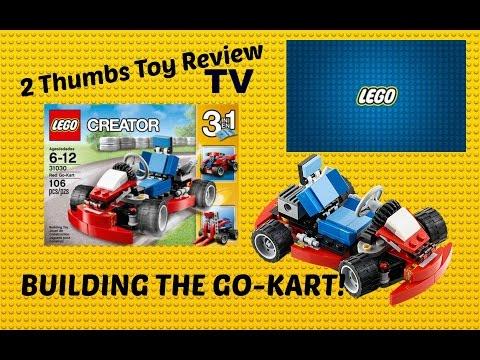 Lego Creator 3 in 1 Go Kart, Four Wheeler, Forklift