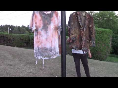 HAUNT ON THE HILL ~ COSTUME DISTRESSING