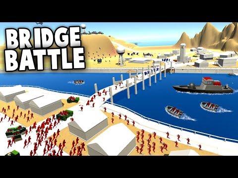 Download Giant BRIDGE BATTLE! (Ravenfield New Map Gameplay