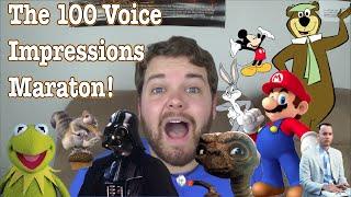 Download The 100 Voice Impressions Marathon Video
