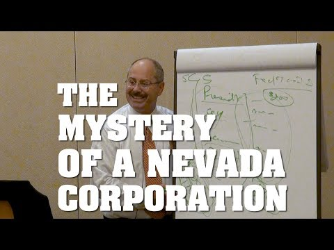 The Mystery of a Nevada Corporation