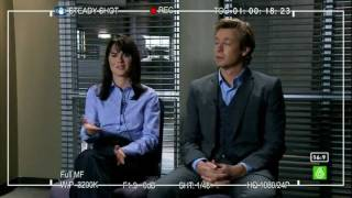 Patrick Jane/Teresa Lisbon--The Mentalist--Hot N' Cold
