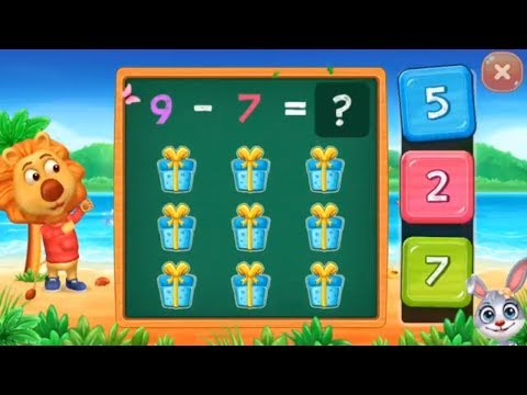 Math Kids - learn subtraction for kids Educational Games for kids - part 7