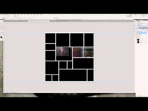 Photoshop CS5 Tutorial: How to create a Beautiful Photo Collage / Montage