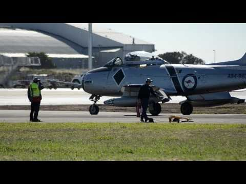 Vintage Warbird jets--Avalon 2011