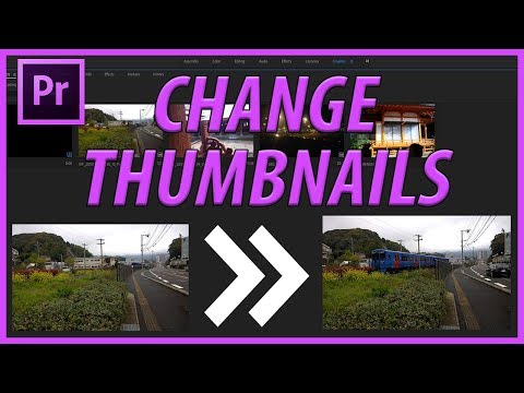 How to Change Thumbnails (Set Poster Frames) in Adobe Premiere Pro CC (2018)