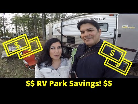 How to Save on RV Parks & Campgrounds - Frugal Full Time RV Living