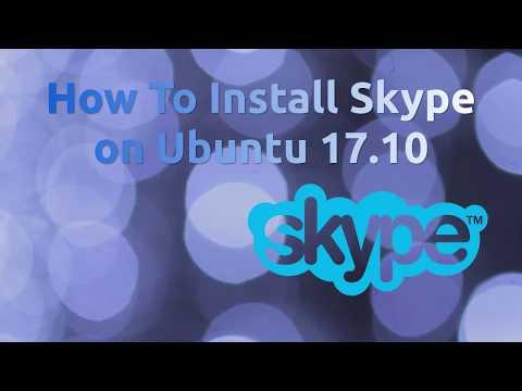 How To Install Skype on Ubuntu 17.10