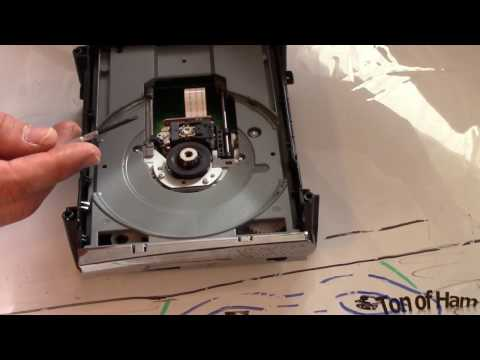 Xbox 360 Tutorial: How to Replace DVD Drive Part 2