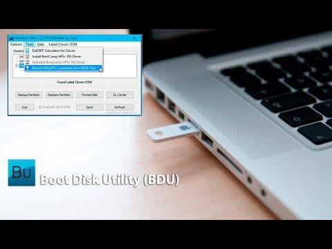 Boot Disk Utility (BDU): Создание загрузочной флешки macOS в Windows