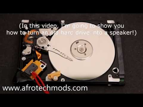 Hard drive... SPEAKERS?!