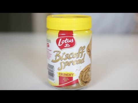 Biscoff Spread Food Review
