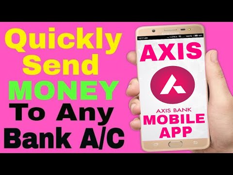 Axis Mobile Banking App - online Send Money or Transfer funds in Seconds With AXIS  Mobile