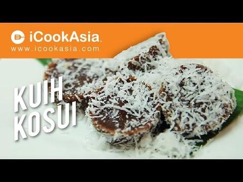 Resepi Kuih Kosui | Kuih Tradisional | Try Masak | iCookAsia