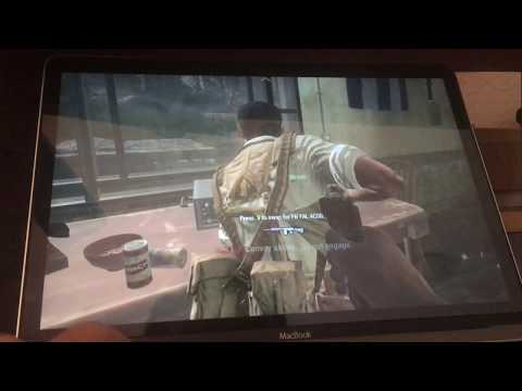 Call of Duty: Black Ops on 2016 12-inch MacBook