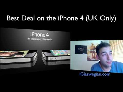 Cheapest way to get an iPhone 4 (UK Only)