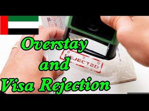 Overstay in UAE || Overstay Fine