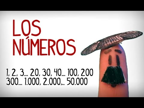 Learn Spanish number from 1 to 50.000