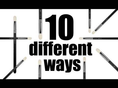 10 DIFFERENT WAYS TO USE A MAC 217 BRUSH! FULL DEMO PLUS DUPES!