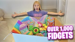 EVERLEIGH UNBOXES WORLDS LARGEST FIDGET TOY HAUL!!!
