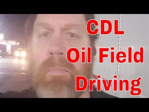CDL Oilfield Truck Driving Info Update   Red Viking Trucker