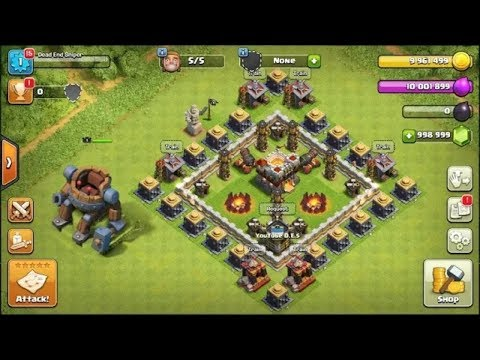 NEW BEST COC PRIVATE SERVER OF 2017 (ANDROID/ios) - CLASH OF CLANS