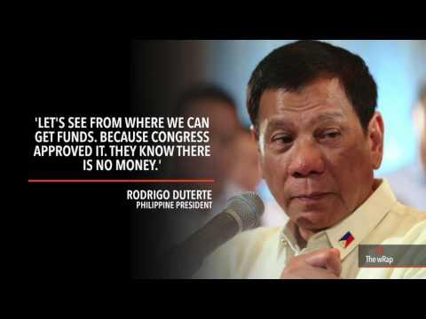 Duterte on how to fund free tuition law: 'Ewan ko'
