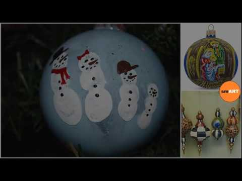 Hand Painted Christmas Ornaments - Christmas Ornaments Personalized