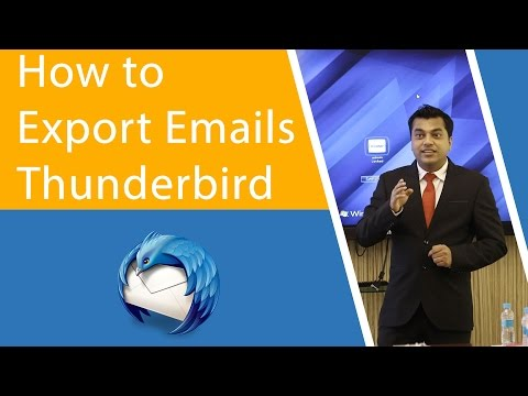 How to Export Emails from Thunderbird