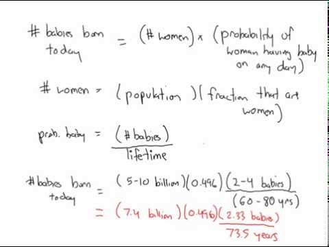 order-of-magnitude approximation
