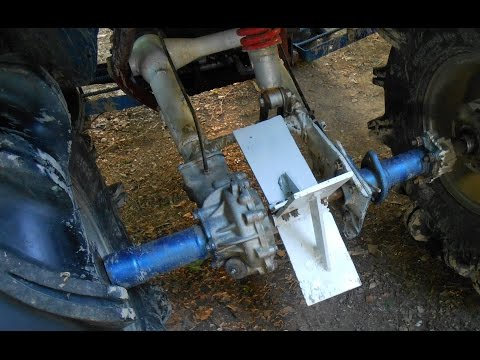How to make a Honda 300 fourtrax axle paddle