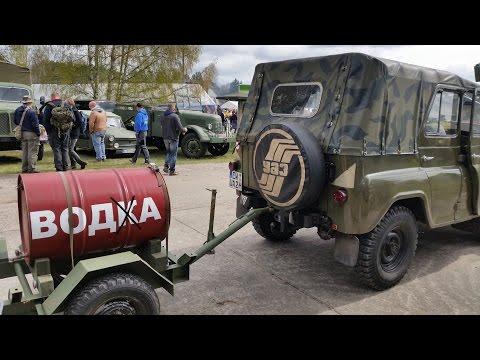 Oldtimer DDR Fahrzeuge im Luftfahrtmuseum. Finowfurt 2016