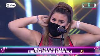 Macarena Vélez regresó a EEG y Said Palao quedó impactado