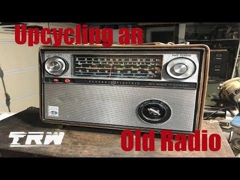 Reclaimed Radio Bluetooth Speaker!