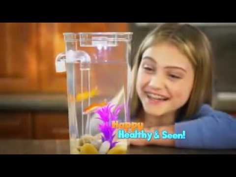 My Fun Fish Tank with Gravity Clean Technology