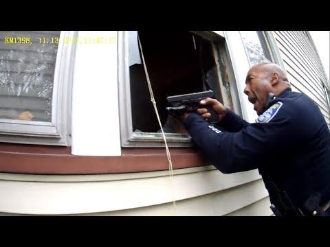 Cops tell ex-boyfriend he can break into house, react when woman pulls gun