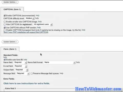 How To Setup Email Contact Form On Wordpress