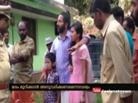 Farmer and two children's suicide threat in front of the forest office| FIr 3 June 2016