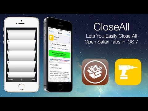 CloseAll: Lets You Easily Close All Open Safari Tabs in iOS 7